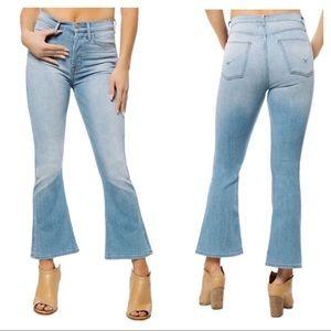 NEW Hudson Vintage Holly crop flare jeans